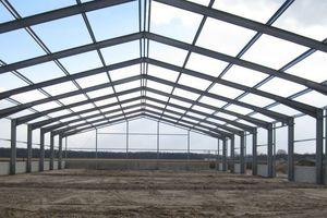 """<div class=""""bildtext"""">Ein klassischer Auftrag für Norma Stahlbau: Eine Stahlhalle, die 2016 gebaut wurde.</div>"""