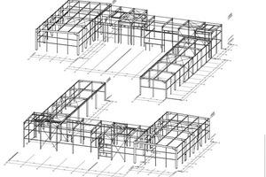 """<div class=""""bildtext"""">Aktuelles Projekt: Hallenkonstruktion (S235JR) für den Bauherrn """"Vorwerk Elektrowerke"""" in Wuppertal.</div>"""
