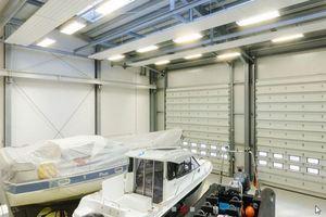 """<div class=""""bildtext"""">Referenz von HAB Hallen- und Anlagenbau: Die Bootshalle in der Marina Kroeslin.</div>"""
