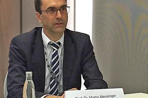 """<div class=""""bildtext"""">Prof. Dr. Martin Mensinger, Inhaber des Lehrstuhls für Metallbau an der TU München.</div>"""