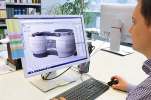 Der architektonische Entwurf stammt vom Darmstädter Büro Bernhardt + Partner und soll einem Doppelsternsystem nachempfunden sein.
