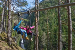 Eine weitere Fly-Line wurde in Gröden in Südtirol und in Radolfzell installiert.<br />