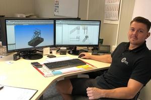 """<div class=""""bildtext"""">Christoph Heider − der Metallbauer in der Fachrichtung Konstruktionstechnik ist seit 2014 als Internationaler Schweißfachmann und seit 2016 als Metallbauermeister qualifiziert.</div>"""