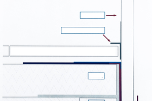 """<div class=""""bildtext"""">Prinzipskizze 2- in-1-System mit gedämmter Balkonbetonplatte. </div>"""