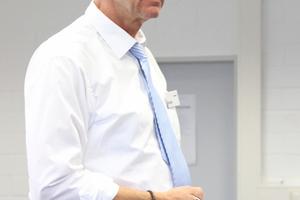 """<div class=""""bildtext"""">Der Organisator der Schweißerfrühstücke: Matthias Huke von TÜV-Nord Systems.</div>"""