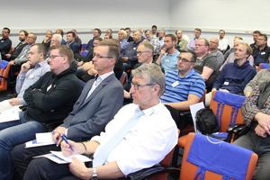 """<div class=""""bildtext"""">Zum Schweißerfrühstuck in Essen Ende September kamen rund 70 Teilnehmer.</div>"""