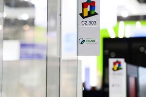 Die DGNB ist in Halle C2 am Stand 303 mit einer eigenen Sonderschau zum Thema Nachhaltigkeit vertreten.