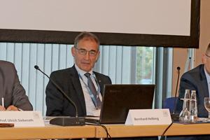 v.l.: Prof. Ulrich Sieberath, Bernhard Helbing, Dr. Jochen Peichl.