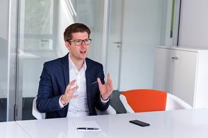 """<div class=""""bildtext"""">Christopher Grätz hat das Online-Finanzdienstleistungsunternehmen Kapilendo gegründet.</div>"""
