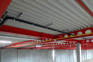 """<div class=""""bildtext"""">Stahlbau Süßen hat das Logistikzentrum Log-Plaza Brandenburg in Großbeeren für den britischen Online-Versandhändler ASOS mit S355J2 + M gebaut.</div>"""