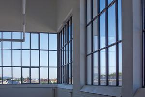 Die Fenster des denkmalgeschützten Industriegebäudes Arbomec in Arbon wurden mit forster unico XS saniert.