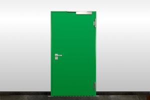 """<div class=""""bildtext"""">Beim Einbau von Brandschutztüren sollten die Normvorgaben dringend beachtet werden; Tipps finden Sie auf <a href=""""http://www.metallbau-magazin.de"""" target=""""_blank"""">www.metallbau-magazin.de</a></div>"""