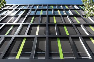 """<div class=""""bildtext"""">Beim Einkaufszentrum MONA München lassen sich Gitterroste als Fassadenelemente bestaunen.</div>"""