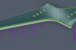 """<div class=""""bildtext"""">Ein 3D-Gittermodell des Glasdachs der Marburger Philipps-Universität</div>"""