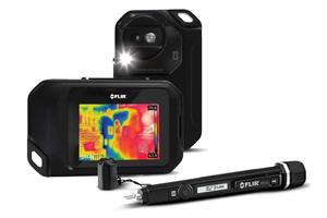 """<div class=""""bildtext"""">Die Flir C3 ist eine voll ausgestattete Wärmebildkamera im Taschenformat.</div>"""