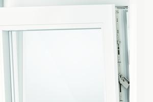 """<div class=""""bildtext"""">Roto Frank rät zum vierstufigen Paket: Abschließbarer Fenstergriff, Anbohrschutz, Pilzkopfschließzapfen und Sicherheitsschließtechnik.</div>"""