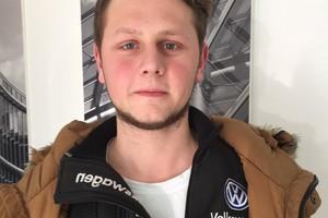 """<div class=""""bildtext"""">Maximilian Veit, Metallbauer bei Lacker in Waldachtal.</div>"""