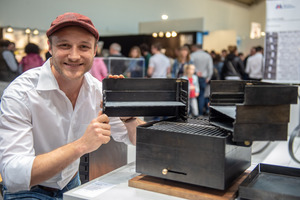 "<div class=""bildtext"">1. Platz: Benjamin Böwing vom Ausbildungsbetrieb Max Jung Metallbau.</div>"