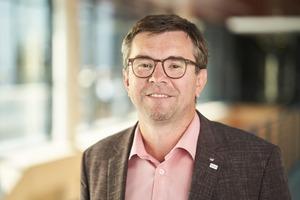 """<div class=""""bildtext"""">Martin Peukert engagiert sich im Fachverband """"Bauprodukte Digital"""" dafür, dass Architekten, Planer und ausführende Unternehmen in der BIM-Arbeitsweise gut kooperieren.</div>"""
