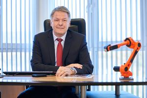 """<div class=""""bildtext"""">Sieghard Thomas führt bei Carl Cloos Schweißtechnik die Geschäfte.</div>"""