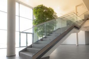 """<div class=""""bildtext"""">Die Eisentreppe mit Blick auf die Umgebung und ...</div>"""