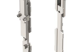 Dank einer speziell von Roto entwickelten Sondereckumlenkung werden die zusätzlich zu den Drehfenstern in die Fassade integrierten Lüftungsklappen umlaufend verriegelt.