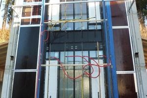 """<div class=""""bildtext"""">Wichtig für Metallbauer: der Fassadenprüfstand der PfB in Rosenheim.</div>"""