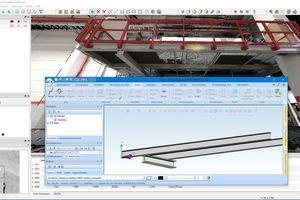 """<div class=""""bildtext"""">Das Programm Scalypso überträgt die Daten des BLK360 nach HiCAD in Echtzeit als 3D-Volumenelement oder als intelligentes Bauteil.</div>"""