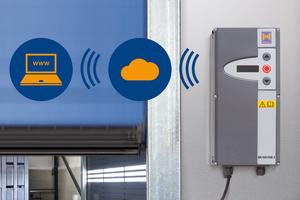 """<div class=""""bildtext"""">Das internetbasierte Hörmann SmartControl-System überwacht permanent den Betriebszustand der Schnelllauftore und vermeidet so unerwartete Störungen. </div>"""