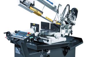 """<div class=""""bildtext"""">Die halbautomatische Ausführung der BMBS 300 X 320 für den Metall- und Stahlbau ist laut Hersteller auf maximale Flexibilität und Leistungsfähigkeit ausgelegt.</div>"""
