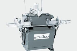 """<div class=""""bildtext"""">Die Kopierfräse KF 347 für die Aluminium-Bearbeitung von Schüco.                     </div>"""