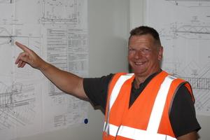 Projektleiter Stefan Dienst.<br />