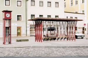Das Warte Haus in Landshut am Bismarckplatz.<br />