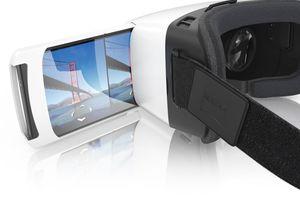 """<div class=""""bildtext"""">Mobile VR-Brillen nutzen ein Android- oder iOS-Smartphone als Display, das in die VR-Brille eingeschoben oder eingelegt wird.</div>"""