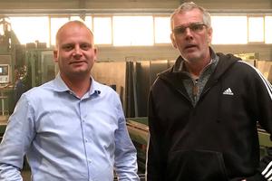 """<div class=""""bildtext"""">Geschäftsführer Patrick Schulz (l.) und der Technische Betriebsleiter Thorsten Leichter.</div>"""