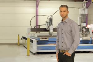"""<div class=""""bildtext"""">Michael Biester leitet mit seinem Bruder und dem Vater das Unternehmen Gebr. Biester Maschinenbau.</div>"""