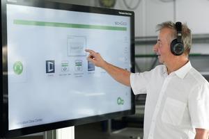 """<div class=""""bildtext"""">2014 wurden die Werkstatt-Terminals (FDC) in den Markt eingeführt, mittlerweile nutzen sie mehr als 500 Betriebe.</div>"""
