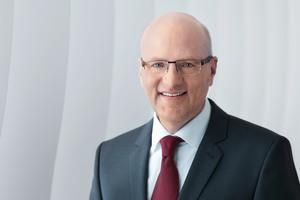 Dr. Reinhard Pfeiffer, Geschäftsführung Messe München.<br />