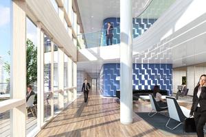 """<div class=""""bildtext"""">Der ausführende Fassadenbauer hat die Software Athena von CAD-Plan für die Arbeitsweise in BIM genutzt.</div>"""