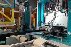 """<div class=""""bildtext"""">Fortlaufende Investitionen gewährleisten einen modernen Maschinenpark: Die moderne Verbundanlage ist seit einem Jahr im Einsatz.</div>"""