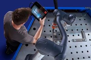 """<div class=""""bildtext"""">Das neue Cobot Welding System bietet einen einfachen Einstieg in das automatisierte Schweißen.</div>"""