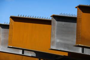 Der wetterfeste Stahl Diweten 460+M ermöglicht Material-, Zeit- und Kosteneinsparungen.<br />