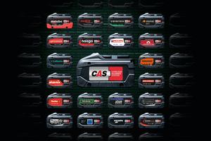 Ein Akku - 20 Marken - 200 Maschinen lautet die Formel von CAS; Initiative zu dem herstellerübergreifenden Akku-System hat Metabo ergriffen.<br />