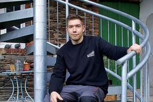 """<div class=""""bildtext"""">Der 36-jährige Metallbauunternehmer Tristan Fernandez Haas.</div>"""