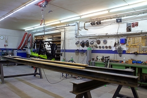 """<div class=""""bildtext"""">Dieses Jahr kann Fernandez seine Werkstatt auf rund 400 m² erweitern.</div>"""