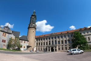 """<div class=""""bildtext"""">Mit der Sanierung des Stadtschlosses Weimar wird auch wieder die historische Kapelle hergestellt.</div>"""