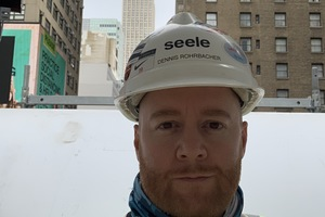 Dennis Rohrbacher, Site Manager bei Seele in New York.<br />