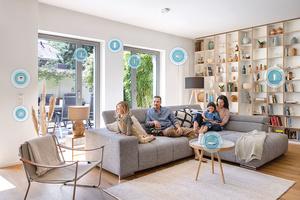 """<div class=""""bildtext"""">Gute Smart-Home-Systeme werden ständig für weitere Nutzungsmöglichkeiten erweitert.              <irfontsize style=""""font-size: 6.000000pt;"""">Foto: Bosch</irfontsize> </div><div class=""""bildtext"""">         </div>"""