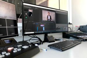 """<div class=""""bildtext"""">Das ift Rosenheim hat ein Aufnahmestudio, das von ift-Kunden für Online-Veranstaltungen gebucht wird.</div>"""
