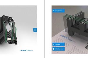 """<div class=""""bildtext"""">Mit der 3D-App lassen sich Hueck-Produkte Kunden interaktiv per moderner AR-Technik präsentieren. </div>"""